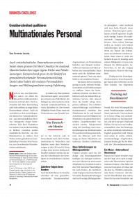 Multinationales Personal