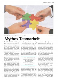 Mythos Teamarbeit