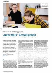 """New Work"" Gestalt geben"