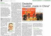 Deutsche Qualität made in China