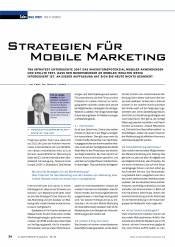 Strategien für Mobile Marketing